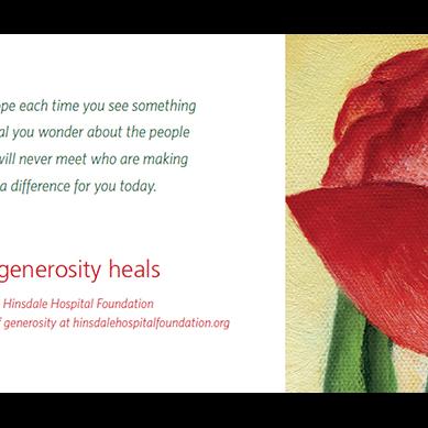 Generosity Heals Designs